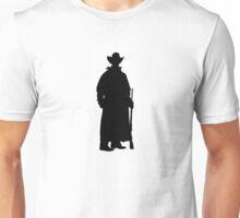 Western Theme - Cowboy Silhouette Unisex T-Shirt