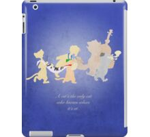 Aristocats inspired design (Alley Cats). iPad Case/Skin
