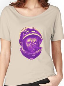 Major Pug to Ground Control Women's Relaxed Fit T-Shirt