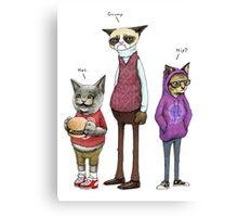 Sum Catz Canvas Print