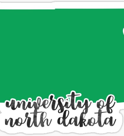 University of North Dakota - Style 16 Sticker