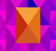 Pyramid Pattern 3 Sticker