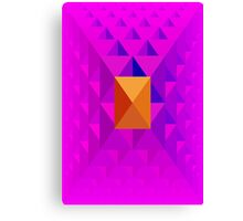 Pyramid Pattern 3 Canvas Print