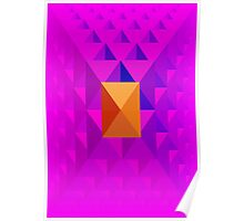 Pyramid Pattern 3 Poster