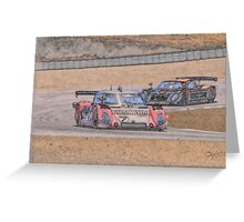 American LeMans Prototypes Greeting Card