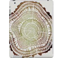 Tree Rings – Watercolor iPad Case/Skin