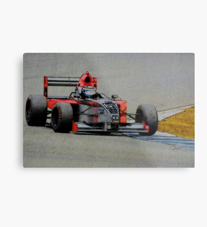 Formula Atlantic Race Car Metal Print