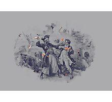 Epic Battle Photographic Print