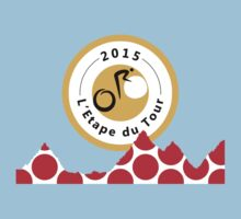Red Polka Dot 2015 L'Etape du Tour Mountain Profile v2 by sher00