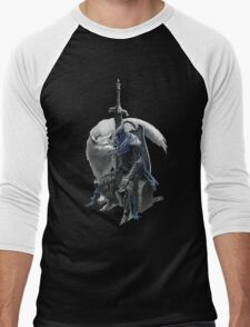 Artorias and sif. Men's Baseball ¾ T-Shirt