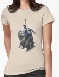 Artorias and sif. Womens Fitted T-Shirt