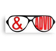 Sunglasses & Advil Metal Print