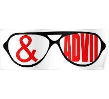 Sunglasses & Advil Poster