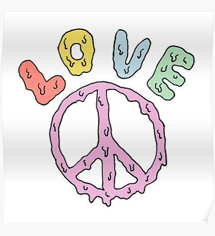 love pantone Poster