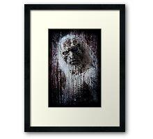 White Walker Framed Print