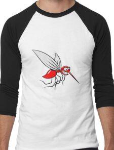 Mücke witzig stechen comic  Men's Baseball ¾ T-Shirt