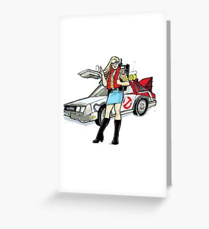 WonderLibrarian - Car Greeting Card