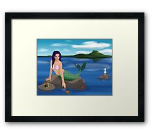 Mermaid and Friends Framed Print