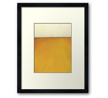 Fresh Beer Framed Print