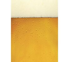 Fresh Beer Photographic Print