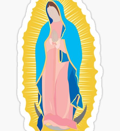 Virgen de Guadalupe / virgin / madona Sticker