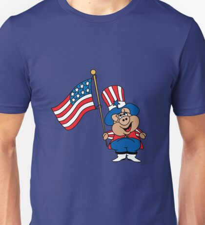 Patriot American Pig Unisex T-Shirt