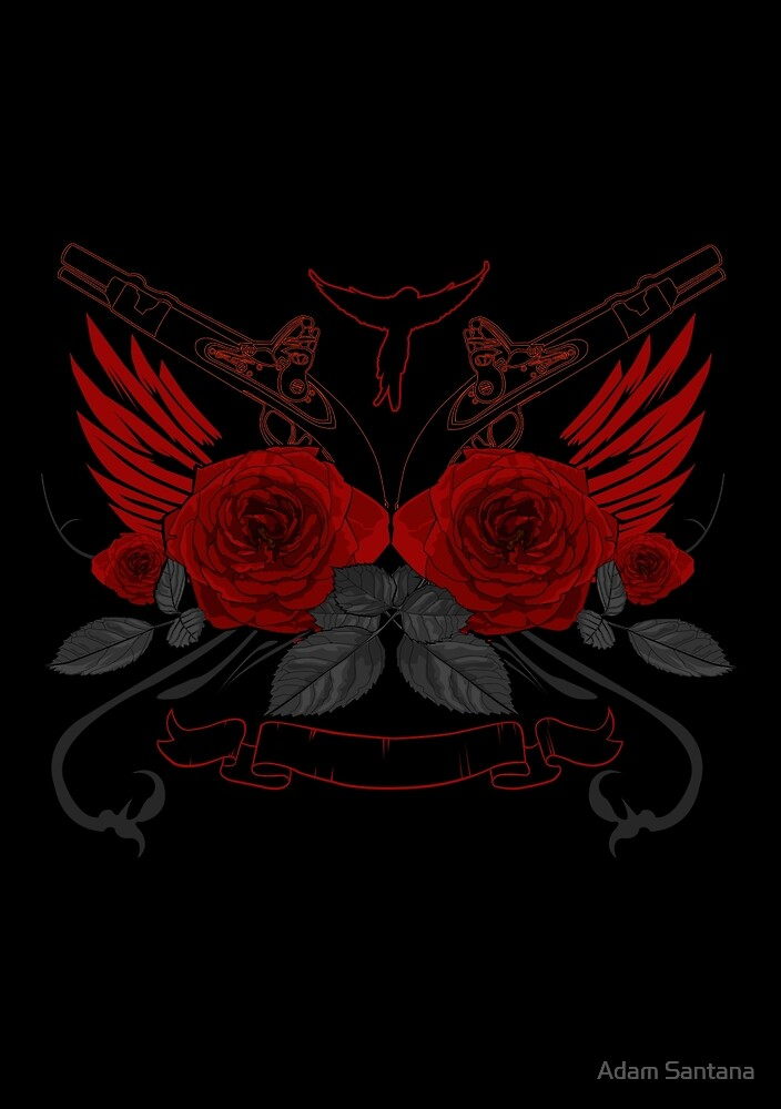 Guns and Roses RED 2 by Adamzworld