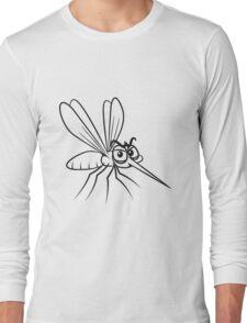 Mücke witzig stechen  Long Sleeve T-Shirt