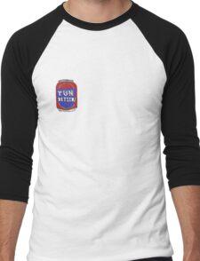 TUN Bitter (Red) Men's Baseball ¾ T-Shirt