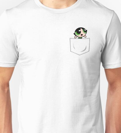 Powerpuff Girls Buttercup Pocket Unisex T-Shirt