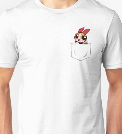 Powerpuff Girls Blossom Pocket Unisex T-Shirt