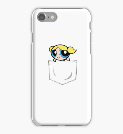 Powerpuff Girls Bubbles Pocket iPhone Case/Skin
