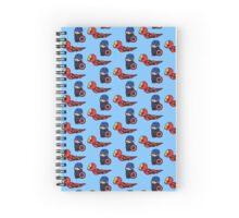 Iron Taxi Spiral Notebook