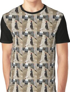 Little Boy On A Bicycle  Graphic T-Shirt