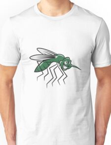 Mücke witzig comic  Unisex T-Shirt