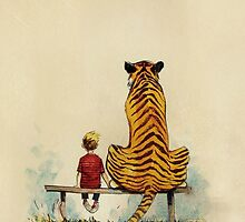 Calvin and Hobbes by Jasonschwarts