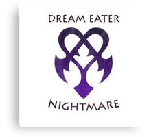 Dream Eater //NightMare// - Simplistic Canvas Print
