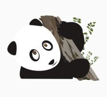 Panda in the tree Kids Clothes