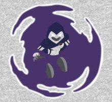 Teen Titans - Raven breaks through Kids Clothes