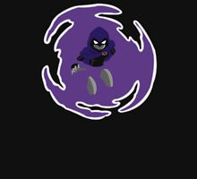 Teen Titans - Raven breaks through Womens Fitted T-Shirt