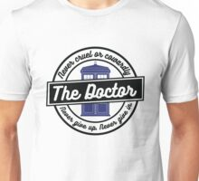 "Doctor Who - ""Never Cruel or Cowardly"" Unisex T-Shirt"