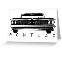Pontiac Greeting Card