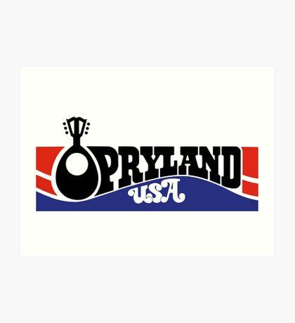 Opryland Logo Art Print