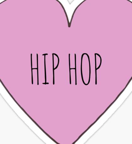 Hip Hop Love Sticker