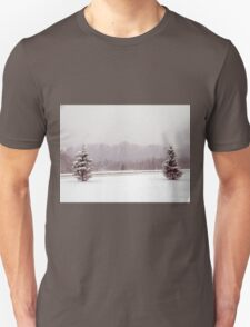 winter tree scene T-Shirt