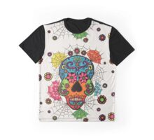 Skull and Webs by Lindsay Carpenter Graphic T-Shirt