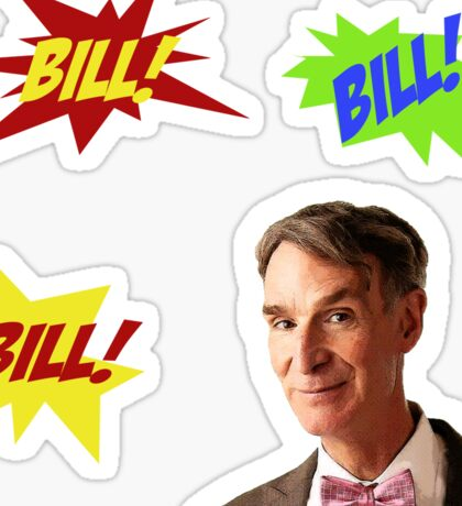 Bill Nye, the Science Guy Sticker