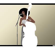 Esperanza Spalding tribute by hazin