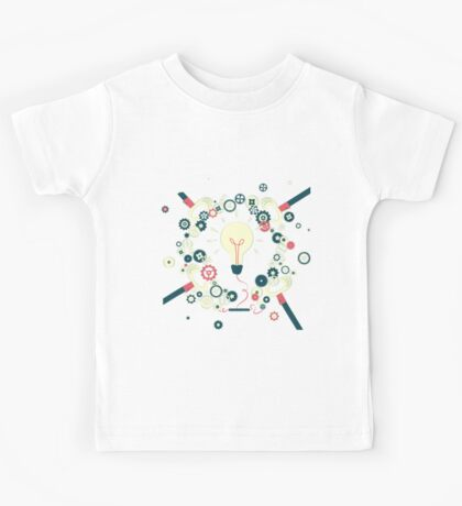 Teamwork makes big ideas shine brighter Kids Tee
