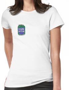Tun Bitter (Green) Womens Fitted T-Shirt